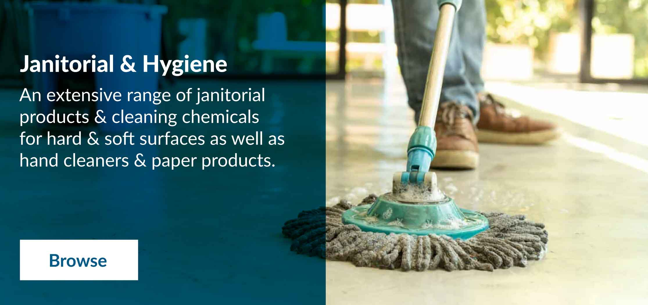Shop janitorial & hygenic